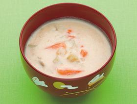 サツマイモの豆乳みそシチュー