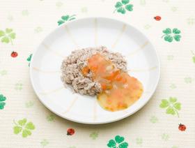 初ガツオのオレンジマリネソース