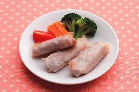 豚肉のポテト巻き