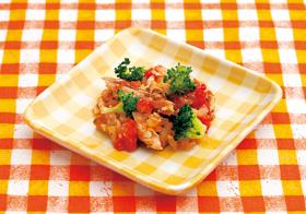 サンマのトマト煮