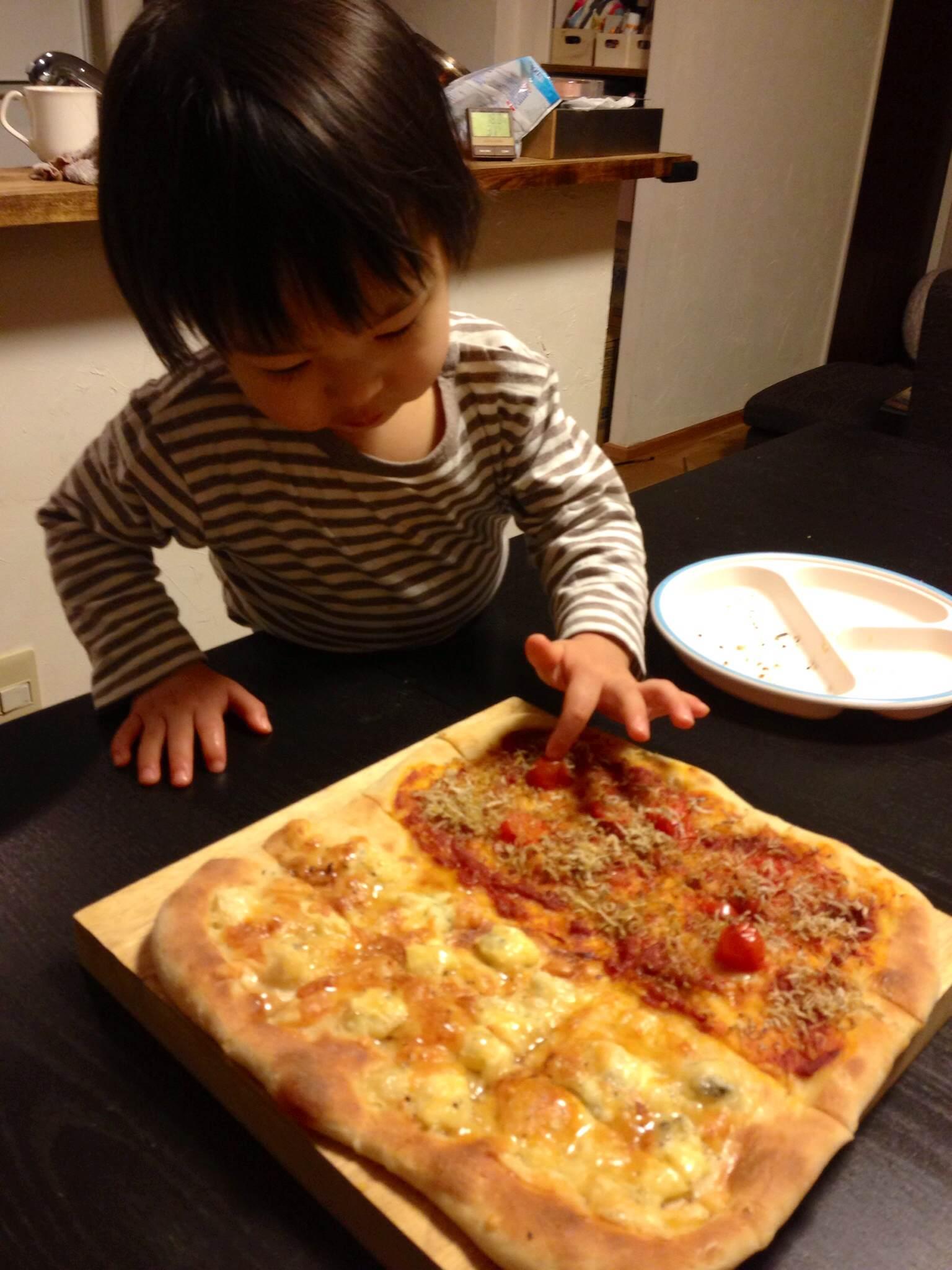 なし ピザ ドライ イースト
