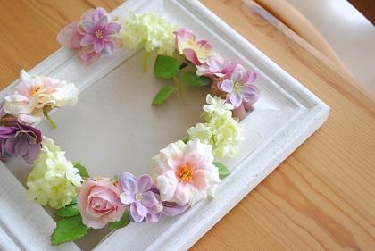 花 かん むり 作り方 100 均