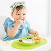 お皿を落とさず、食べこぼしキャッチ!食べたい気持ちを応援するベビー食器