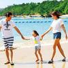 夏は楽しいリゾート旅行でリフレッシュ たくさん遊んだ後は親子一緒のシャンプーでヘアケアを