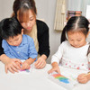 家にあるものを使って親子で楽しく簡単に 「スクラッチ画」の年賀状をつくってみませんか